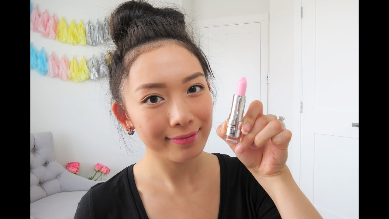 E.L.F. Gotta Glow Lip Tint Review (Perfect Pink) - YouTube