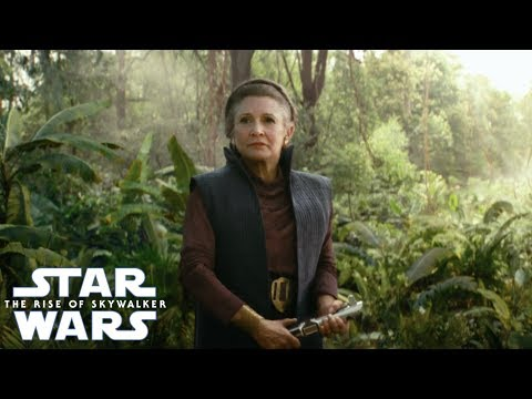 To Bring Carrie Fisher Into Star Wars The Rise Of Skywalker It Took A Lot Of Cgi