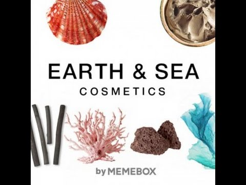 MEMEBOX EARTH & SEA COSMETICS (Föld és tenger kozmetikumok)