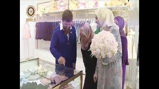 В Грозном открыли новый пятиэтажный магазин модного дома дочери Кадырова