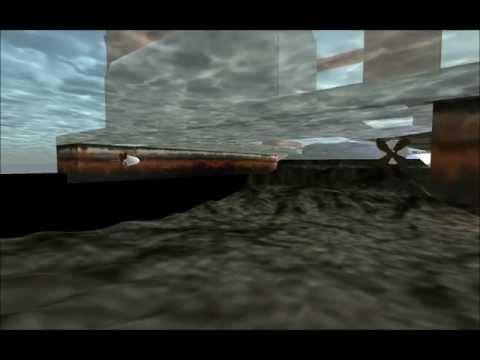 DS9 Off Shore Crane - Side Thruster Demo