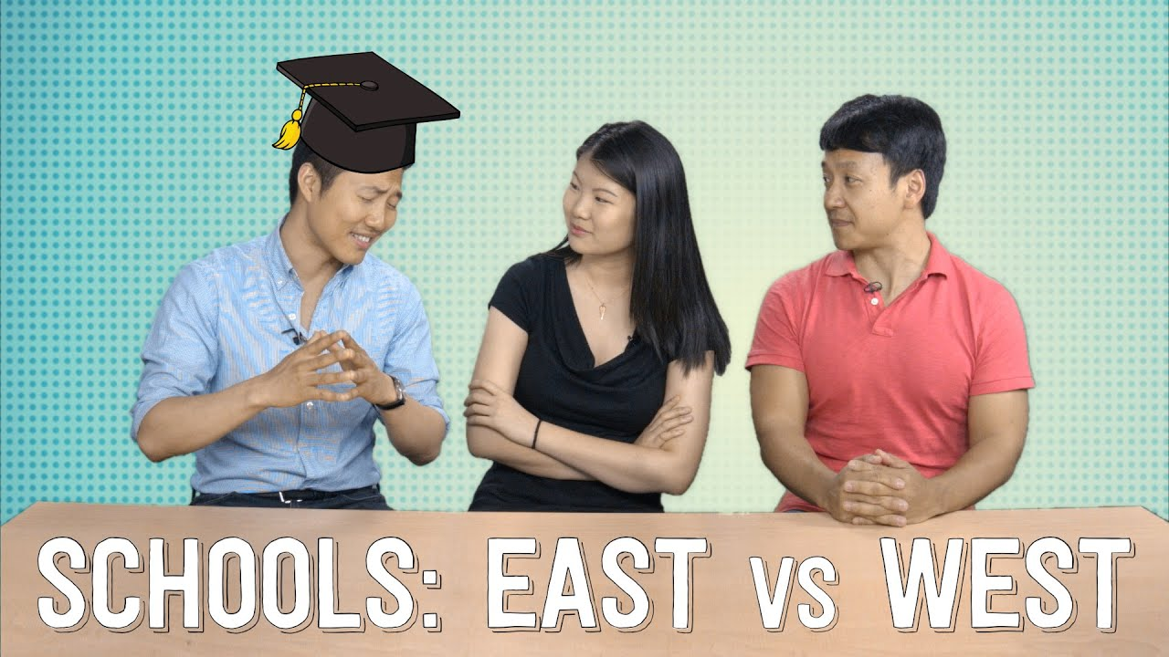 a comparison between the american and asian education system The difference between chinese and american education systems is that they have an extremely very high excellent education rate with all 100% of them both males and females getting straight a+ and.