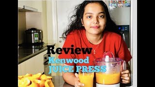 Kenwood Citrus Juice Press Review || How to make Orange Juice in 5 minutes || AD's Kitchen & Vlogs