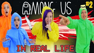 AMONG US IN REAL LIFE! (2 Impostors) IMPOSTOR WINS