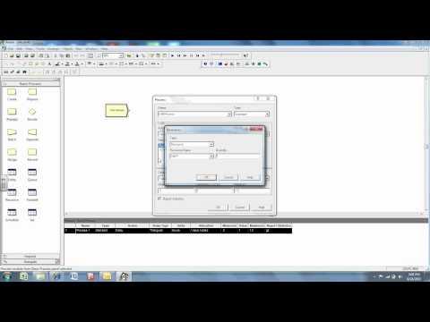 Arena Simulation Software Demo MFGE640