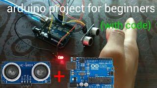 Arduino ultrasonic sensor proj…