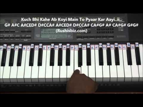 Chalo Chale Mitwa Piano Tutorials - Full Song (Nayak Movie)