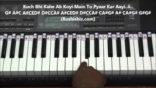 Chalo Chale Mitwa Piano Tutorials - Full Song (Nayak Movie)