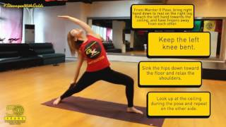Yoga 101: Reverse Warrior Pose