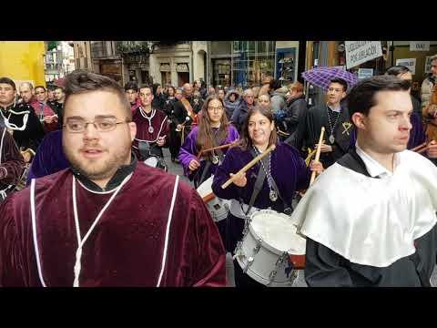 Semana Santa Segovia 2019. Procesión anuncio pregón 6/4/2019 (2)