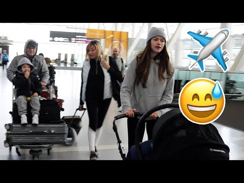 Airport Chaos | How We Travel With 3 Kids