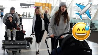 Airport Chaos | How We Travel With 3 Kids Video