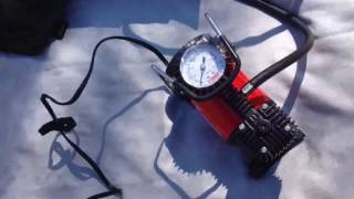 Обзор и Тест авто компрессора Штурмовик АС-50