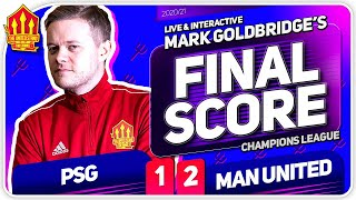 GOLDBRIDGE! PSG 1-2 Manchester United Match Reaction