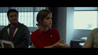 Emma Watson and Tom Hanks - dialogue Circle movie by James Ponsoldt 2017
