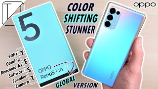 OPPO Reno5 Pro 5G UNBOXING and DETAILED REVIEW - Color Shifting Stunner!