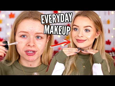 EVERYDAY MAKEUP ROUTINE NOVEMBER 2018 | sophdoesnails