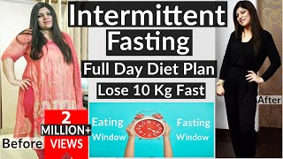 Intermittent Fasting   How To Lose Weight Fast With Intermittent Fasting Fat Loss How It Works-Hindi