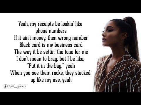7 Rings - Ariana Grande (Lyrics)