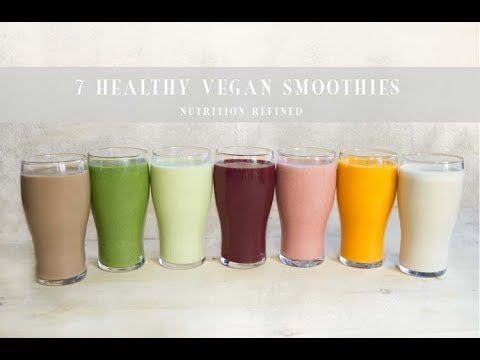 7 Healthy Vegan Smoothies