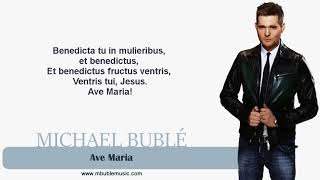 Video Ave Maria Michael Buble