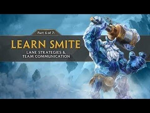видео: smite tutorial part 6 -Тактика На Линии & Командное Общение (Русская Озвучка)