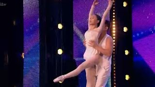 Video Cute Chinese Couple ROMANTIC Moves | Auditions 2 | Britain's Got Talent 2017 download MP3, 3GP, MP4, WEBM, AVI, FLV Mei 2018