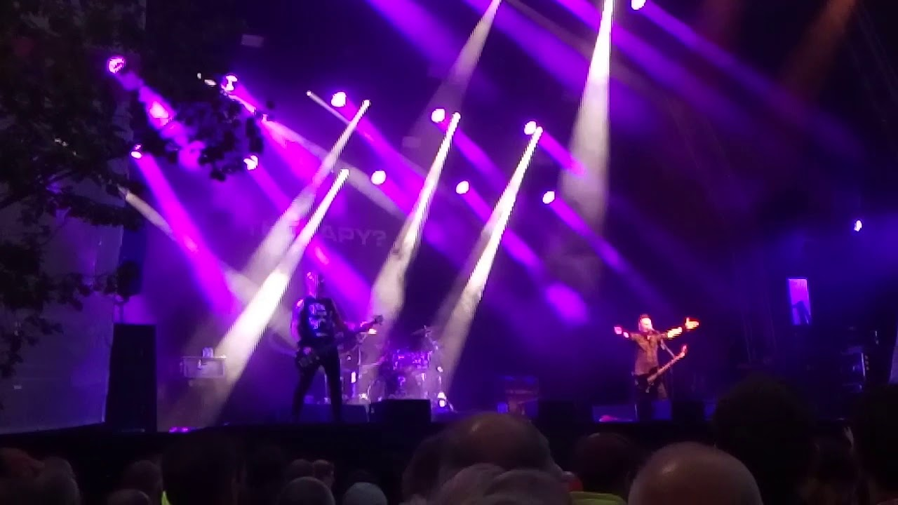 Therapy? - Genk on stage 2018 - YouTube