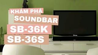 soundbar sb 36k sb 36s