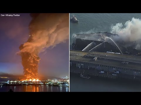 Updates On Massive Fire At San Francisco's Historic Fisherman's Wharf -- Watch Live