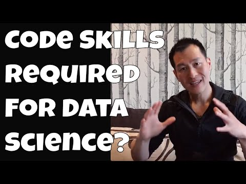 Code Skills Required For Data Science?