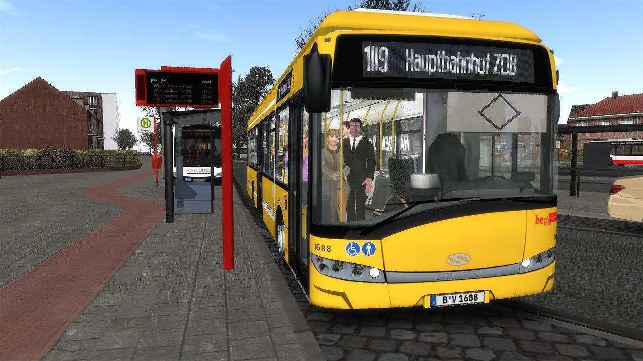 OMSI 2 Interessanter Bus Solaris Urbino 12 Electric BVG 1688