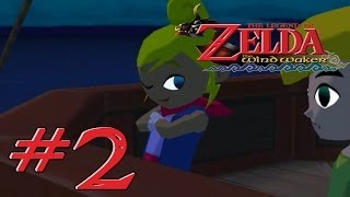 "The Legend of Zelda: The Wind Waker Parte 2 ""Isla del Diablo y Escudo"""
