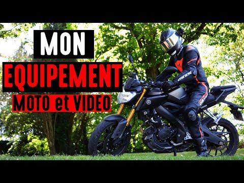 MON EQUIPEMENT MOTO ET VIDEO !