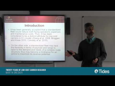 SeminariosTides: Twenty Years of Low-Cost Carrier Research