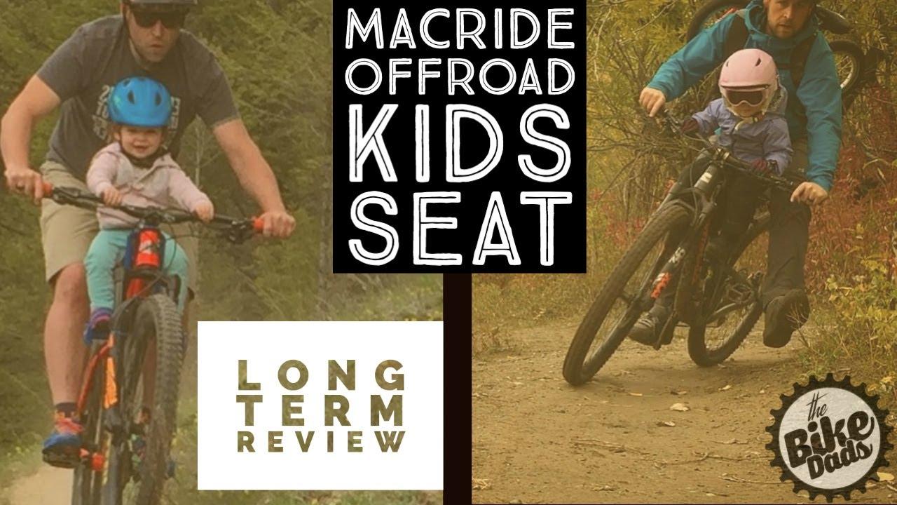 Otroški kolesarski sedež za kolo MAC RIDE - TEST