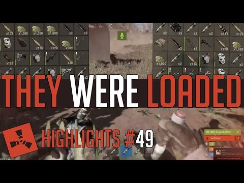 They Were LOADED! (Rust Highlights #49) thumbnail