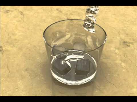 Vaso con agua y hielos youtube - Vaso con agua ...