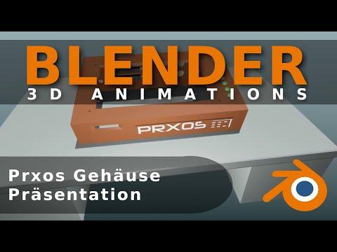 Prxos Geh�use Pr�sentation /  Enclosure presentation