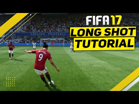 FIFA 17 LONGSHOT TUTORIAL - THE SECRET TO ALWAYS SCORE GOALS FROM LONG RANGE in FIFA 17 FUT & H2H