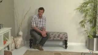 Altea Upholstered Bedroom Bench - Product Review Video