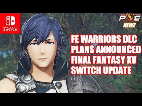 """Final Fantasy XV Switch """"No Official Plans"""", Fire Emblem Warriors DLC Announced & MORE!   PE NewZ"""