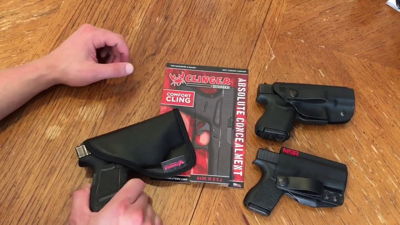 Clinger Holsters: Comfort Cling