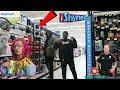 "🔥Blasting Lil Pump - ""i Shyne"" in Walmart (Gone Wrong) cops called !!"