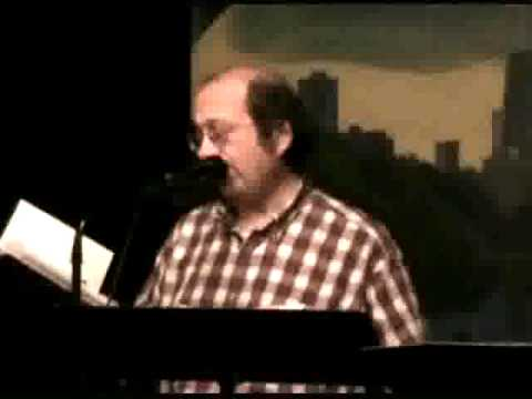 "Bob Rashkow reads R. N. Taber's poem ""Overkill"" @ Chicago's the Cafe Gallery 10/30/13"