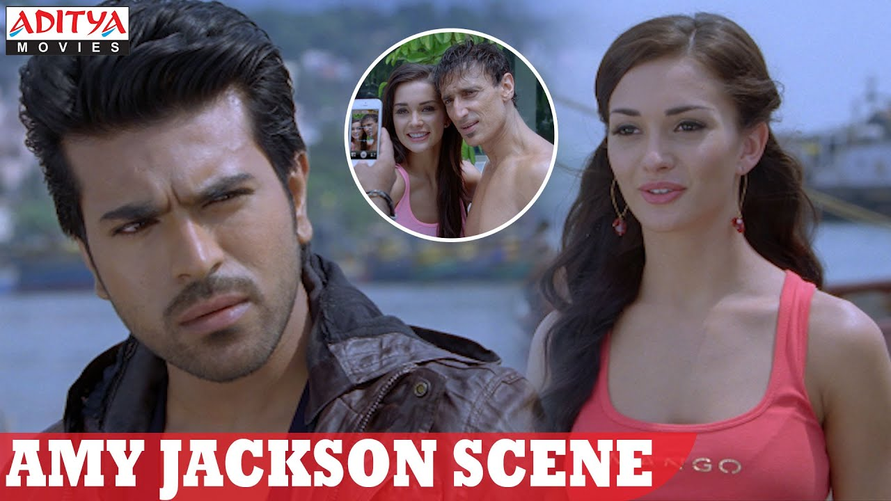 Yevadu Movie Amy Jackson With Ram Charan Scene Ram Charan Shruthi Hasan Amy Jackson
