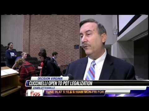 Virginia Attorney General Ken Cuccinelli Open To Legalizing Marijuana