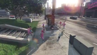 Grand Theft Auto 5 BCA Run And the fake Sir Loochie appearance