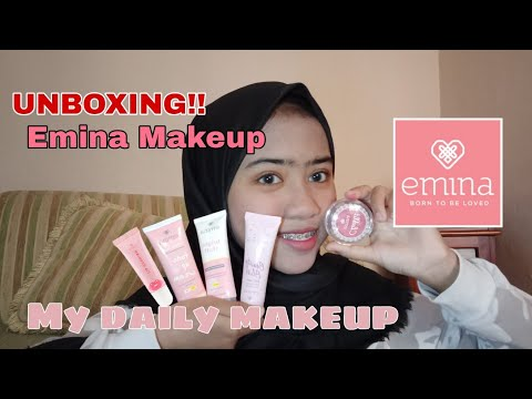 unboxing-+-review-makeup-emina//-my-daily-makeup-routine
