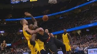 LeBron James Gets Put In A Chokehold! thumbnail